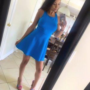 Blue BCBG skater dress